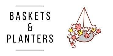 Flower Hanging Baskets